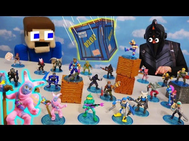 Fortnite Battle Royale Collection Series 2 Moose Toys Unboxing Plus S3 Vehicles Playsets Youtube