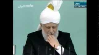 Foi et constance des compagnons du Messie Promis (a.s) - sermon du vendredi  20-04-2012