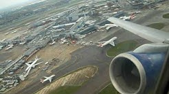 British Airways Boeing 757-200 G-CPER amazing powerful and steep take off at London Heathrow (LHR)