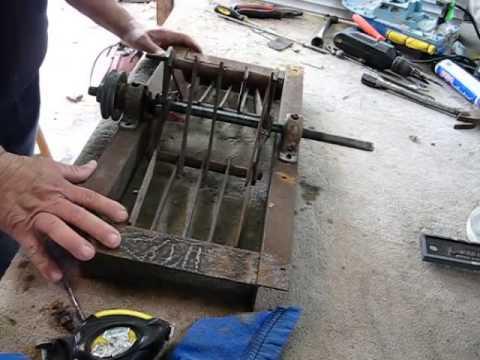 Como hacer un molino de martillos a la mexicana youtube - Trituradora de ramas casera ...