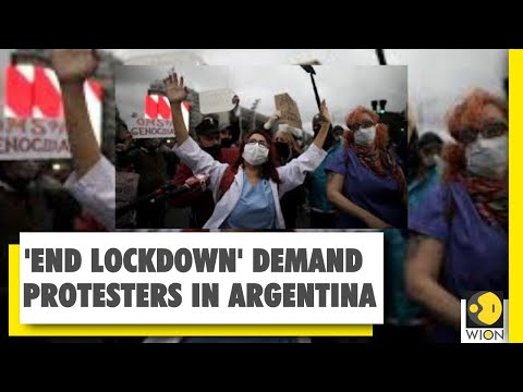 Protesters demand end to lockdown in Argentina