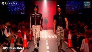 ARJUN KHANNA - LAKME FASHION WEEK WINTER/FESTIVE 2014