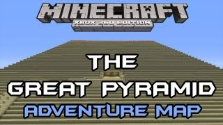ADVENTURE MAP GAMEPLAY | THE GREAT PYRAMID #2 | TU7 Minecraft Xbox
