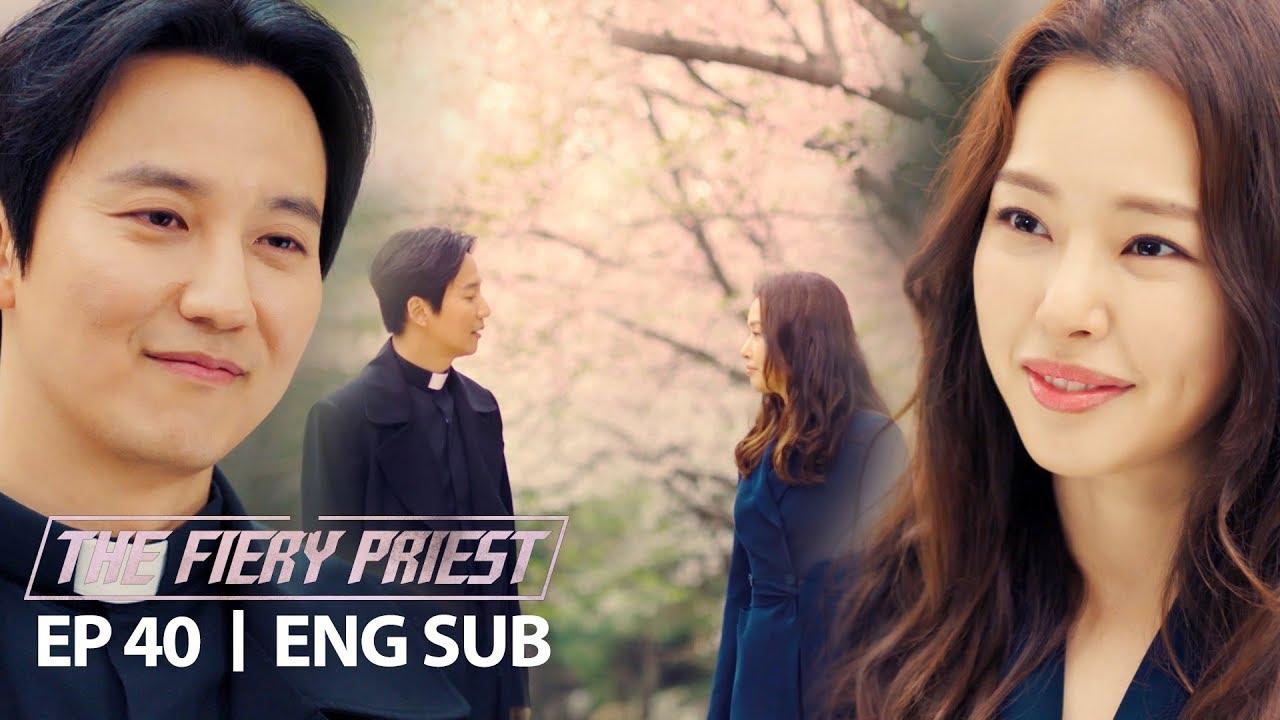 Lee Ha Nee and Kim Nam Gil Say Goodbye [The Fiery Priest Ep 40]