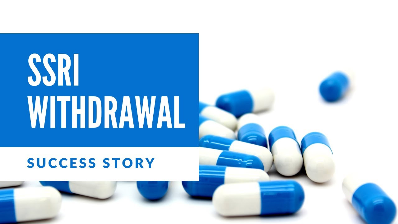 Going cold turkey | Brain zaps & my SSRI withdrawal success story