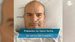 Sergio Verduzco no necesita medicamentos fuertes o terapias hasta el momento; no tiene fecha para salir del hospital