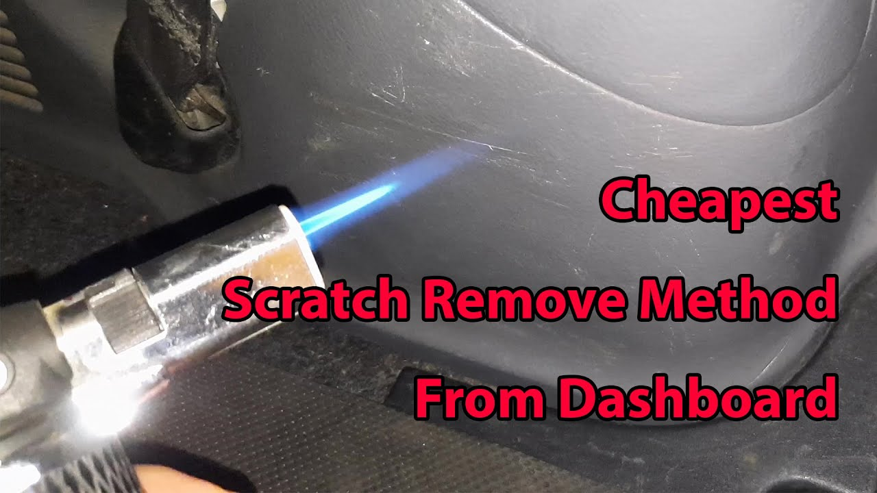 Cheapest Scratch Remove Method From Dashboard