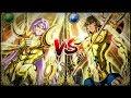 Mu de Aries VS Aioria de Leo - Un poder imponente