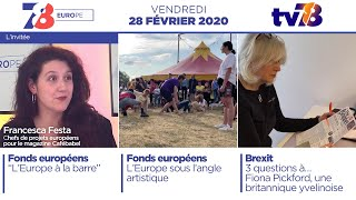 7/8 Europe. Emission de février 2020