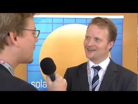 Jörg Mayer, BSW-Solar, at ESTEC 2011