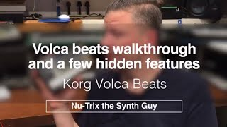 Korg Volca beats review and a few hidden features
