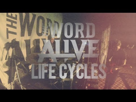 Luke Holland // The Word Alive - Life Cycles (Live)