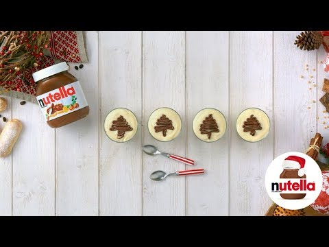 Mini Tiramisu with Nutella® hazelnut spread