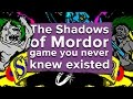 The Shadow of Mordor you never knew existed