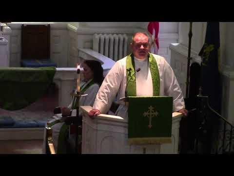 Rev. Mark Riley, Sermon, 9/10/17  St. John's Episcopal Church, Hampton VA