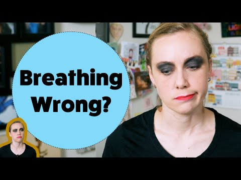 You've Been Breathing Wrong #teamtrees | Kati Morton