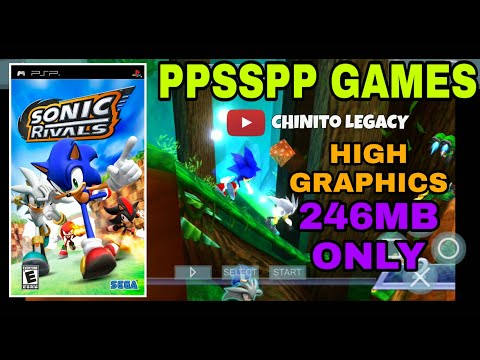 Sonic Rivals 246mb Ppsspp Games For Pc And Android With