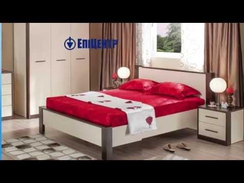 В Епіцентрі краща ціна: Комплект меблів для спальні «РИГА»