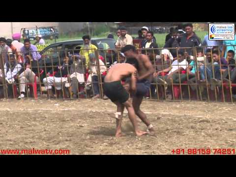 MALLIAN KHURD (Nakodar-Jalandhar) Kabaddi Tournament - 2014. Part 1st.