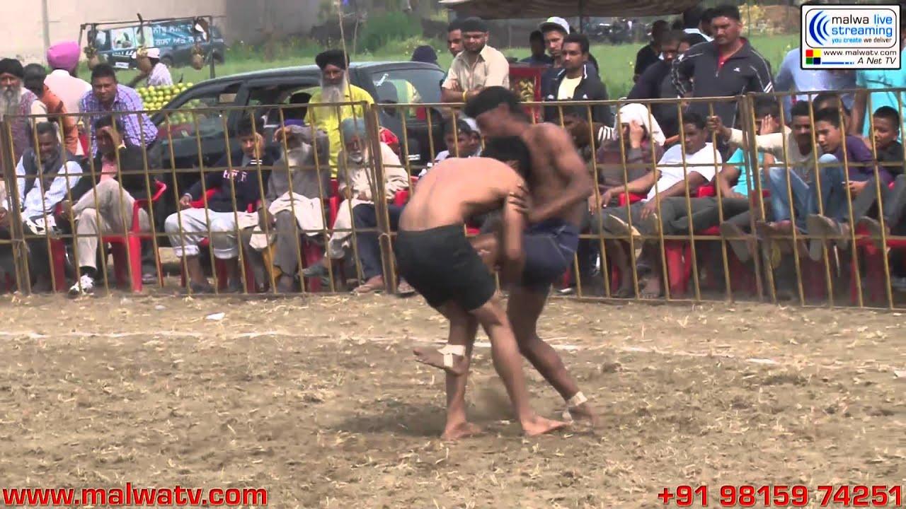 MALLIAN KHURD (Nakodar-Jalandhar) Kabaddi Tournament - 2014. Part 1st.