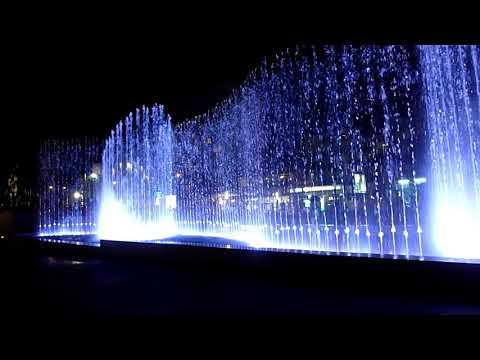 Fântâna muzicală din Deva - The musical fountain from Deva (2)
