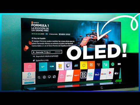 El PUNTO FUERTE de LG!!! OLED TV