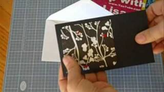 CM #136 - Fast and Easy Gift Envelopes for Stamps, Gift Cards, etc.