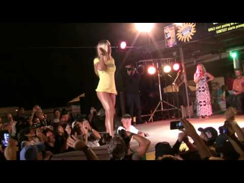 The Hot Thunder Bikini Contest at The 2012 Biketoberfest Part 4 Full HD)
