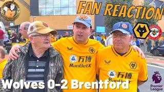 STUNG🐝 Wolves 0-2 Brentford REACTION