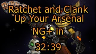 Ratchet & Clank: Up Your Arsenal - NG+ Speedrun in 32:39