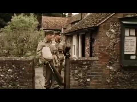 Band of Brothers - Simon Pegg as William Evans - YouTube  Band of Brother...