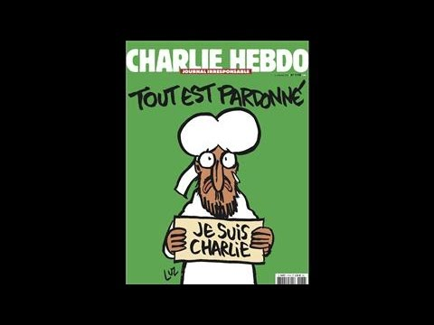 Charlie Hebdo Puts Muhammad on its Next Cover