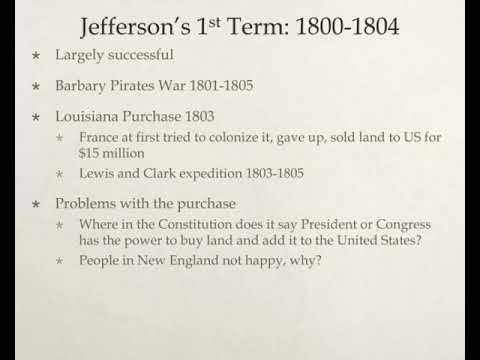 republican rule jefferson through the war of 1812