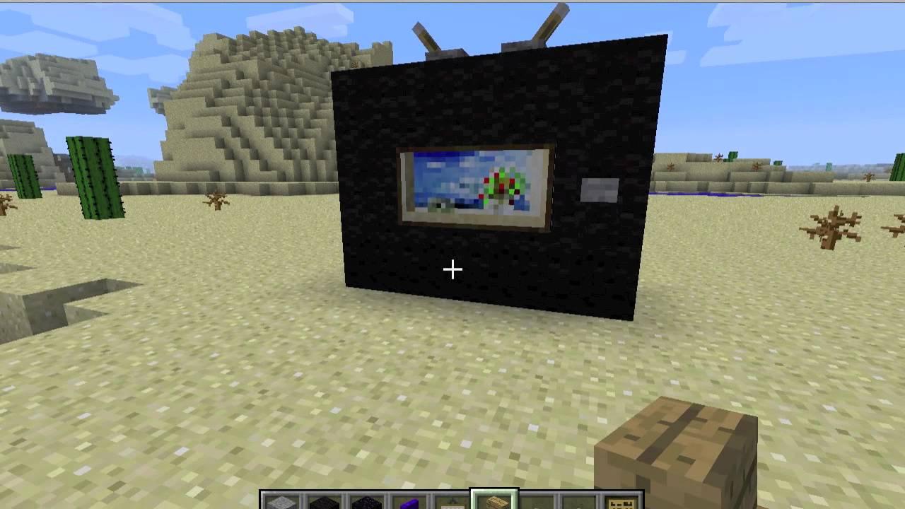 Minecraft como hacer una tv y un sillon youtube - Como tapizar un sillon ...