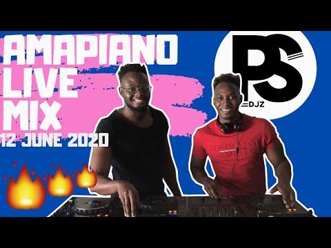 AMAPIANO LIVE MIX | 11 JUNE 2020 | DOUBLETROUBLEMIX BY PSDJZ