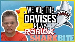 Oh God Its Coming! | Roblox Sharkbite EP-38 Revised | We Are The Davises Gaming