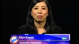 Mountain View City Council Candidate Statements - Ellen Kamei