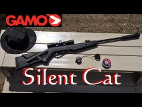 Gamo Silent Cat  177 cal  Air Rifle with 4x32mm Scope