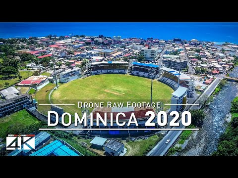 【4K】Drone RAW Footage | This is DOMINICA 2020 | Caribbean |