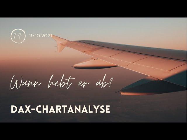 DAX-Morgenanalyse für Dienstag den 19.10.2021 nach der Konsolidierung vom Wochenstart: 15.500 Fokus