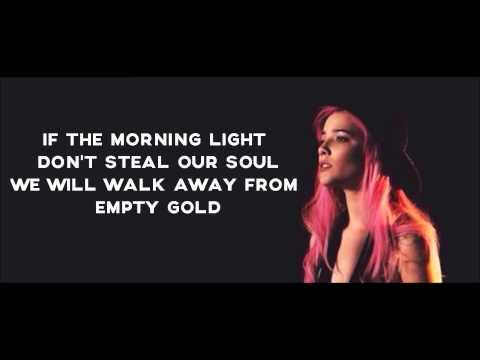 HALSEY - Empty Gold Lyrics Video
