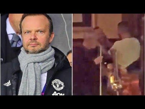 Man Utd chief Ed Woodward poked in ear by fan before Astana Europa League clash- transfer news today