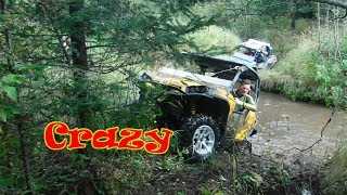 Crazy Extreme ATV UTV Creek Crossing Benders Ride pt 2