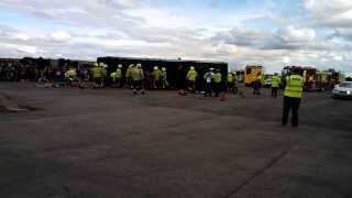 the emergency service show 2013 multi agency rtc drill