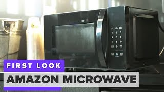 Amazon's Alexa-powered microwave first look