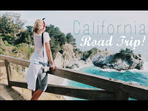 EPIC California Road Trip | Santa Barbara & Big Sur!    |     Trek America Travel Vlog