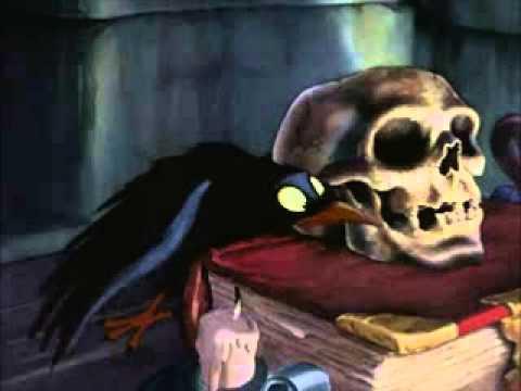 Snow White Evil Queen Preapares Poison Apple (English)