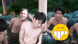 Đi Tắm Suối Nước Nóng Ở Nhật (onsen) 温泉 の 男性