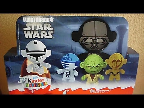 12 kinder surprise eggs star wars twistheads european toys 2013 sorpresa by polish star. Black Bedroom Furniture Sets. Home Design Ideas