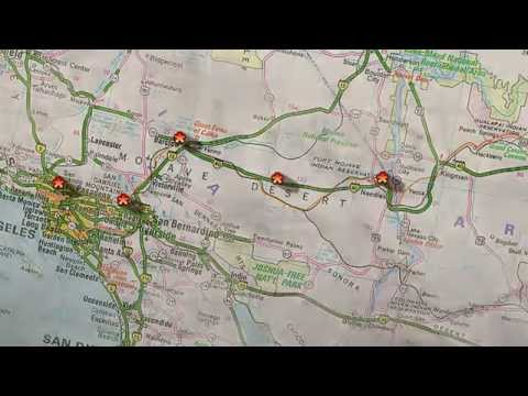 Basic Video Map Animation Cyberlink PowerDirector YouTube - Video of car driving across us map animated